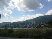 大町青木湖畔