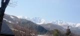 春の白馬三山と八方尾根スキー場