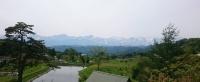 飯縄山登山口から北アルプス