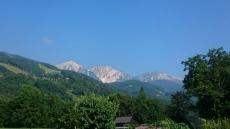 白馬三山と呼ばれる山々