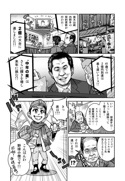 山崎武司マンガニュース1