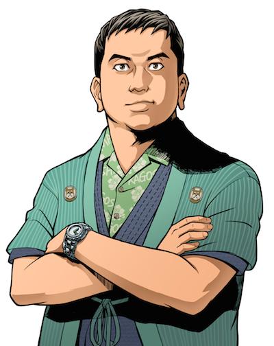現代風侍武将イラスト西郷隆盛