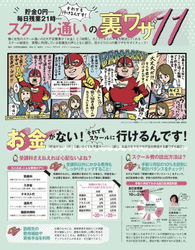 ケイコとマナブ2月号マンガカットイラスト作成イラストレーター平戸三平