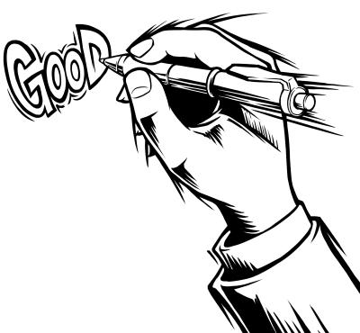 ベネッセ高校講座受験MyVision情報誌カットイラストアメコミ風イラストレーター平戸三平