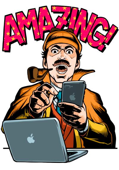 雑誌カットイラストマイナビ出版MacFanイラスト制作iPadproとapplepencilアメコミ風イラストレーター平戸三平