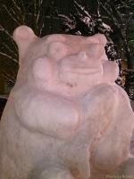 くまモン雪像