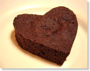 ココア風味ケーキ
