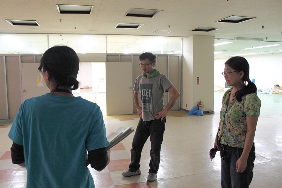 今村哲+染谷亜里可とスタッフ