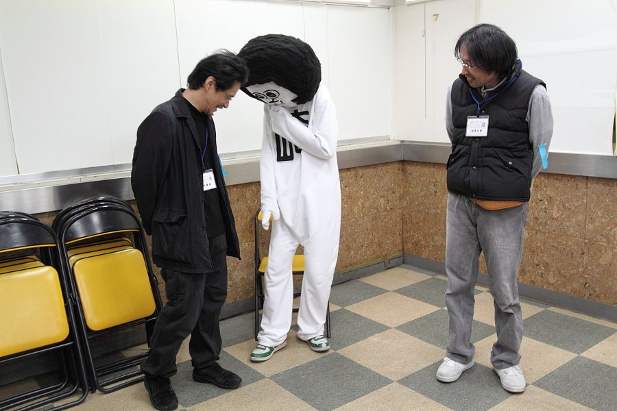 武藤隆さん、オカザえもん(斉と公平太)さん、松永久彦さん。