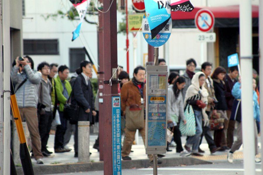 まちバス「籠田公園」バス停
