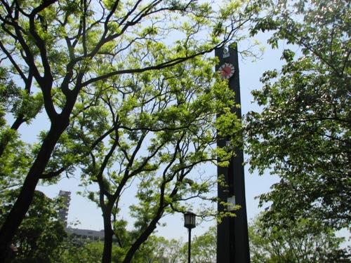 憲政記念館にある時計塔