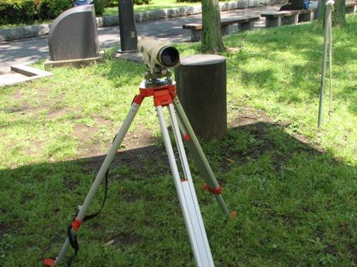 昭和時代の測量機