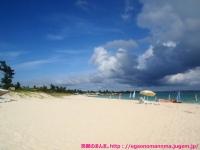 前浜ビーチ。