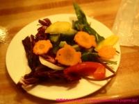 バイキングの野菜ピクルス。
