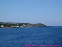 伊良部島は快晴。