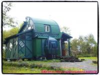 「02遺言」で撮影中に造られた、中畑木材の娘と夫の新居。