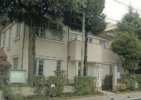 大井小学校敷地内の旧大井村役場庁舎