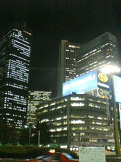 都市の夜景1
