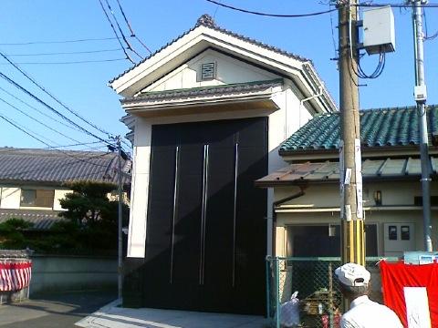宮本町地車庫