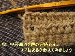 中長編み10