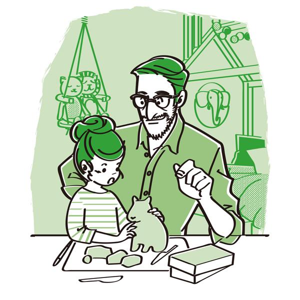 ©2018 さくらいはじめ, 子どもの経済力を決める父親からの問いかけ, マルコ社