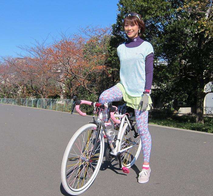 自転車の 自転車 ウェア カジュアル : コーディネイトしていただいた ...