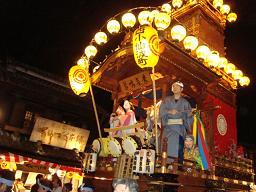 川越祭り−山車