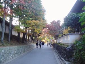 東福寺への参道