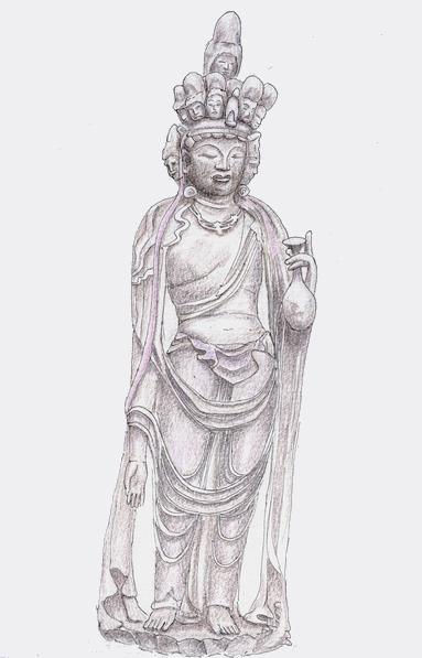 向源寺の十一面観音