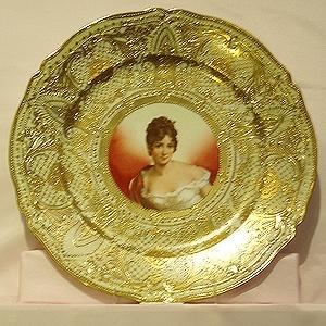 レカミエ夫人図皿