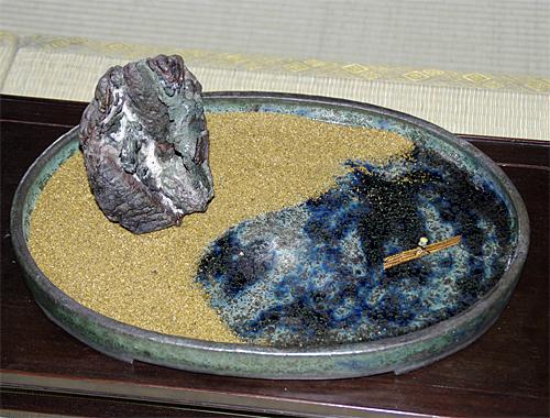 貴船石(秋日和)