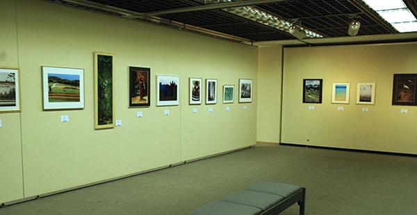 写真展会場の一部