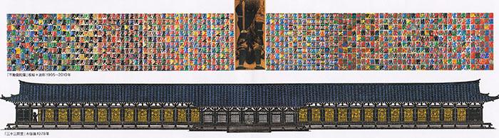 不動曼荼羅と三十三間堂
