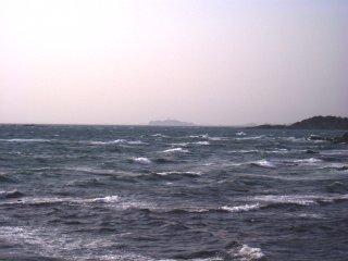 立石公園から眺めた江ノ島