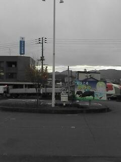 小千谷駅前から延びるメインストリート