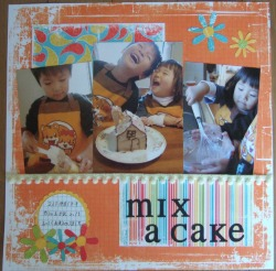 mix a cake