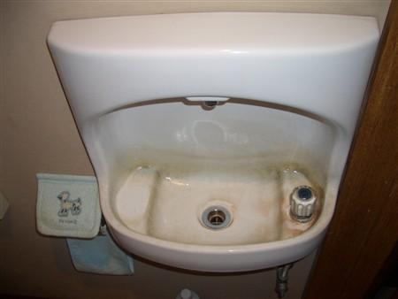 トイレ掃除前