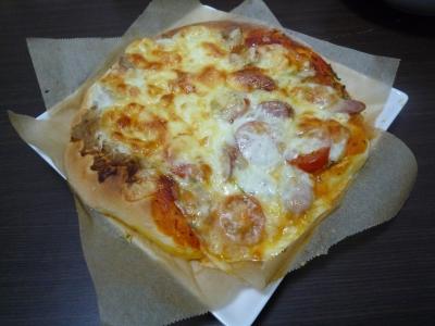 ふわふわピザ