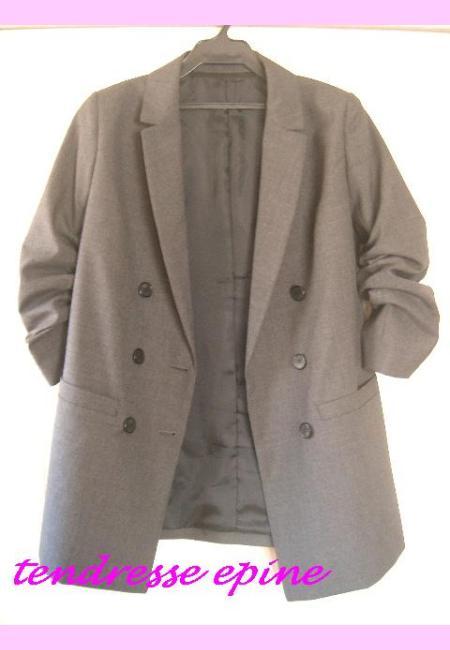 袖まくりジャケット