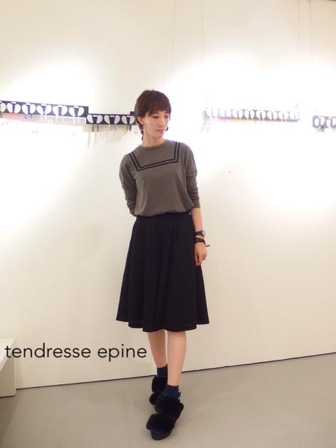 大人ガーリー系ファッション通販テンドレスエピーヌ セーラーカットソー