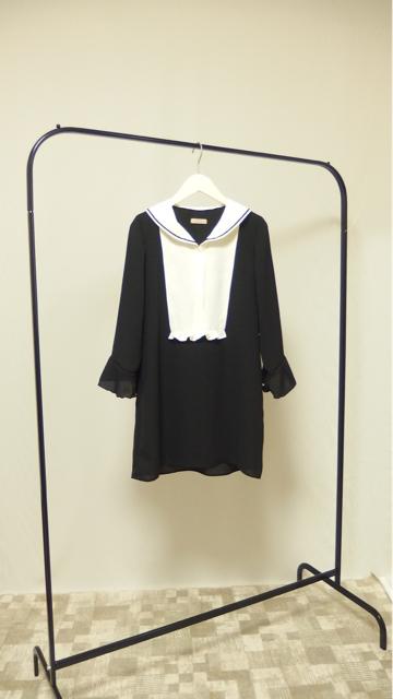 大人ガーリーファッション通販 テンドレスエピーヌ セーラー衿チュニック