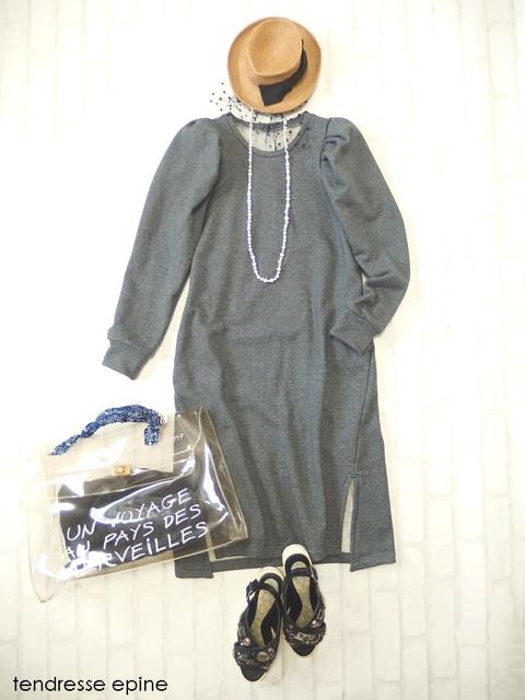大人フェミニンファッション,もり袖デザイン,トレンド袖