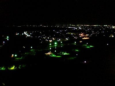 飯岡の夜景