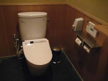 一保堂のトイレ