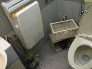 モスバーガーのトイレ