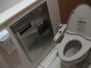 アルネ津山のトイレ