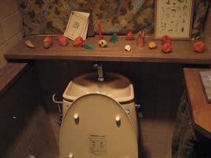 喫茶六花のトイレ