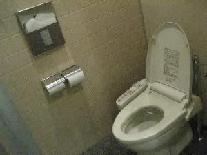 休暇村富士のトイレ