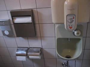 中村軒のトイレ