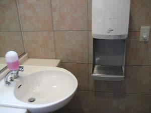 ティファニーのトイレ